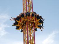 Free fall ride