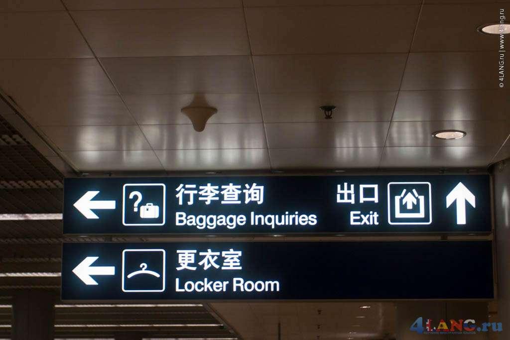 Пункт выдачи багажа и камера хранения