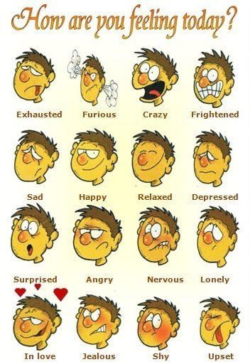 Feelings - чувства