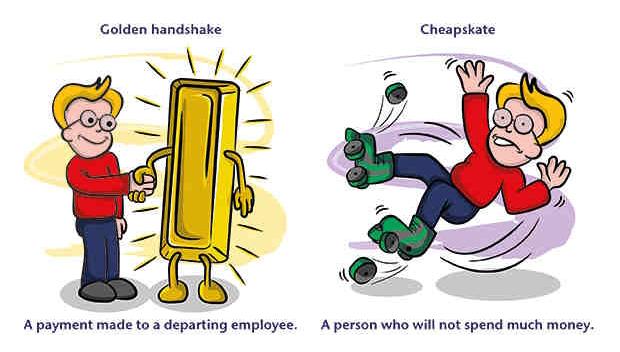 Идиома Golden handshake