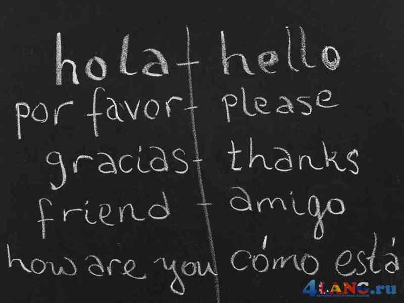 Разговорные фразы на испанском