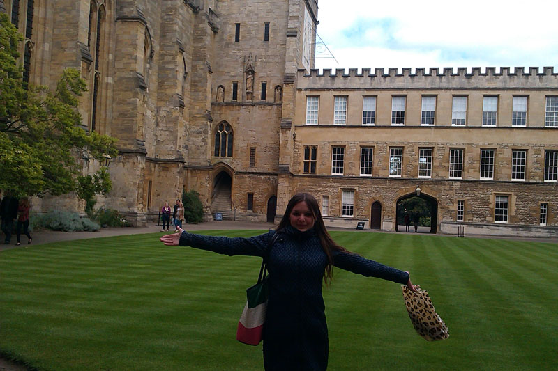 Центральная площадь Оксфорда