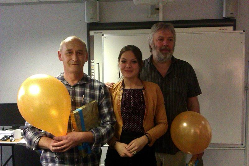 Фото с преподавателями Оксфорда