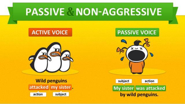 Passive voice. Пассивный залог в английском языке