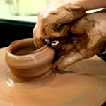 pottery-making - Гончарное дело